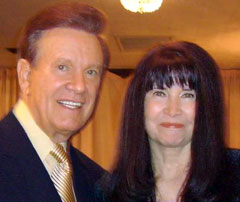 Author, Game Show Host and Disc Jockey Wink Martindale and Dee Dee at the Book Publicists of Southern California Awards