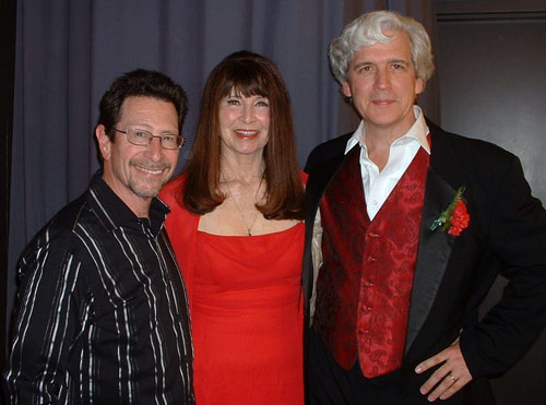 Musical director Barry Fasman, Dee Dee, Dick